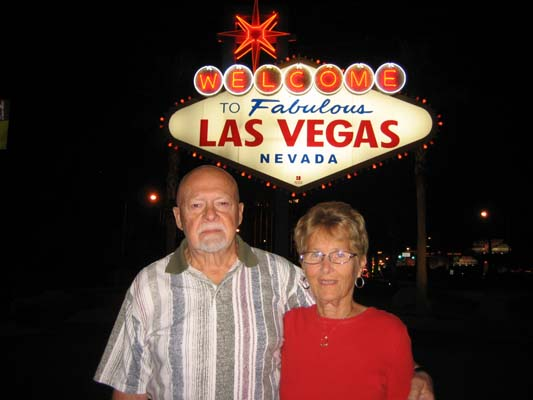 Mom and Dad in Las Vegas